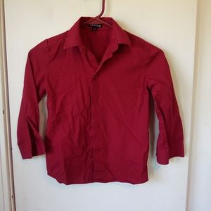 George boys red shirt size 7